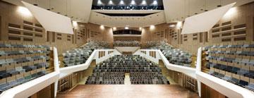 אולם הקונצרטים עצמו (צילום: Frank Tielemans)