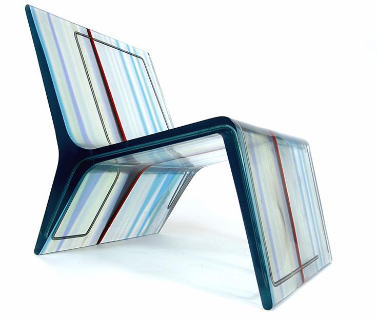 כיסא 2.4. נמצא באוספים של מוזיאונים