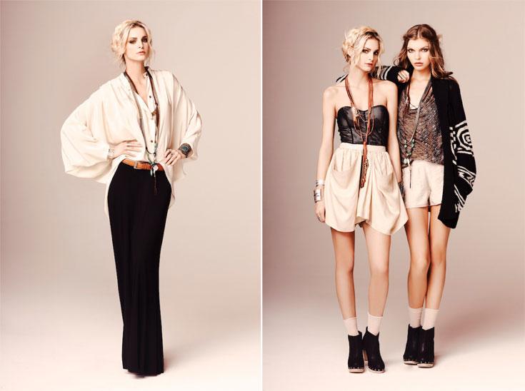 קולקציית הקיץ של סינתיה וינסנט. ''לנשים יש צורך גדול בבגדים שיהיו בטרנד מבלי להיות טרנדיים מדי'' (צילום: סטיב פורס )