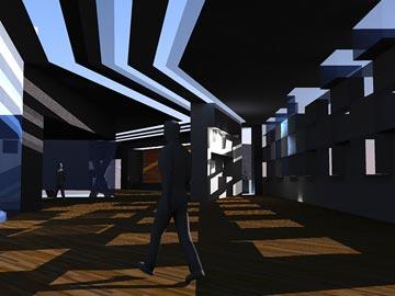 הדמיית המוזיאון לאמנות מודרנית, פיוס ושלום. בלי לפגוע ברחבת הכותל (הדמייה: יובל כהן)