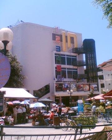 קולנוע חן בכיכר דיזנגוף בתל אביב (צילום: מיכאל יעקובסון )