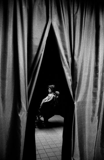 ג'אגר, 1995. עם הגיל נחשף גם הצד השקט שלו (צילום: Calude Gassian)