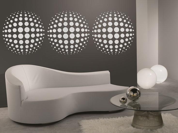 מדבקות דקורטיביות לשדרוג קירות הבית או המשרד, מעודד צבעים (צילום: באדיבות מעודד צבעים)