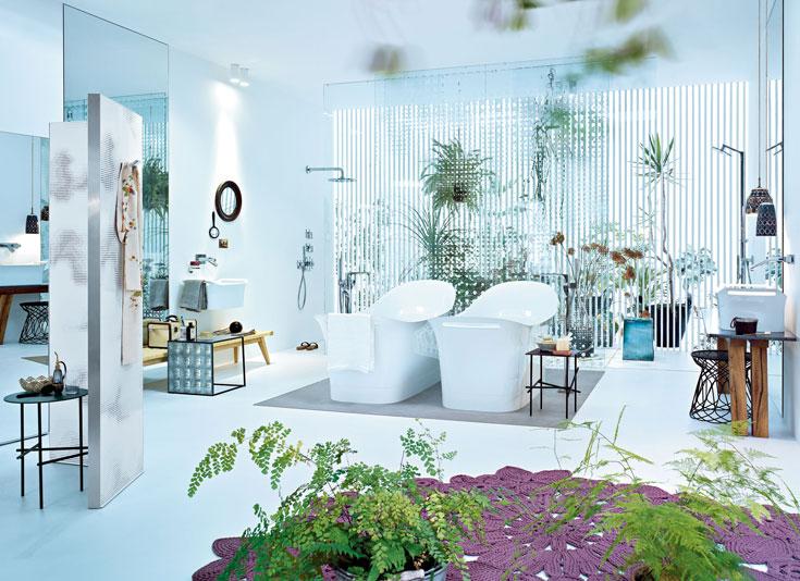 אמבטיה בעיצובה של אורקיולה (צילום: באדיבות אלוני)
