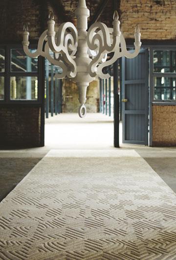 שטיח מבואה לבן, FLOOR (צילום: ג'ורג' טיילר)