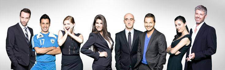 """מסוגלים ליותר. """"נבחרת ישראל בטלוויזיה"""" (צילום: רונן פדידה)"""
