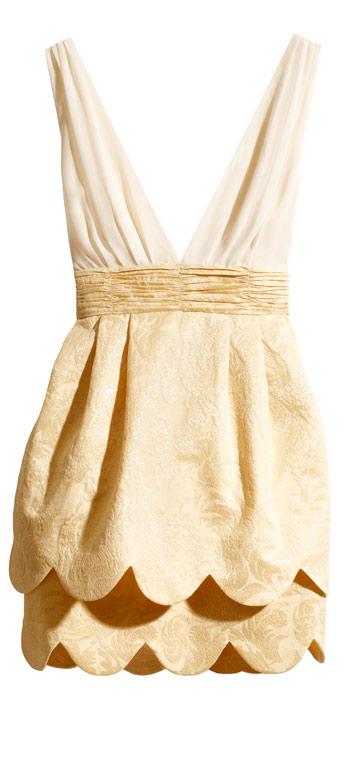 H&M. שמלות קצרות לחתונה באווירת מסיבה (צילום: הנס מוריץ)