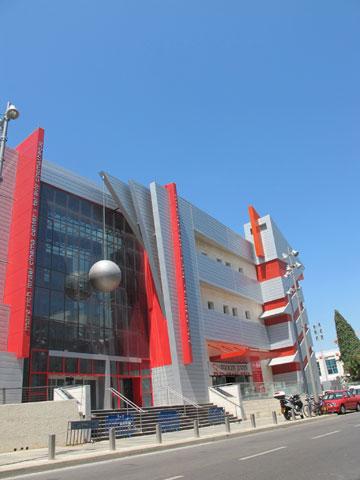 מרכז הקולנוע הישראלי, השבוע.  (צילום: מיכאל יעקבסון)