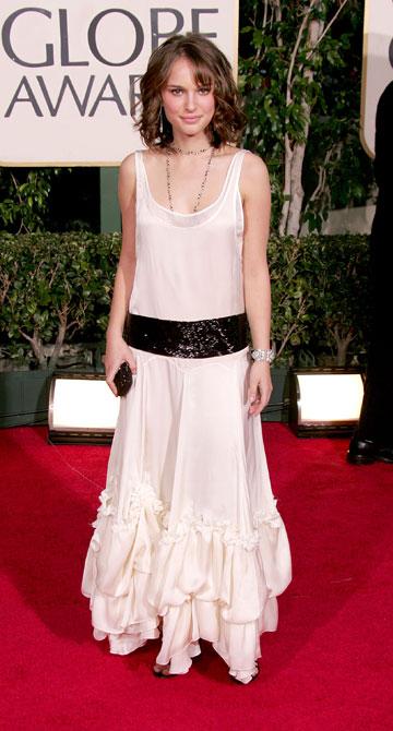 2005. פריצת הדרך בשמלה של קלואה (צילום: gettyimages)