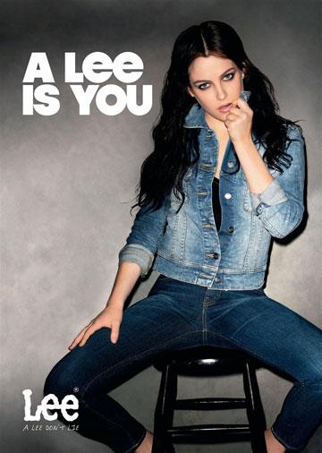 הקמפיין של לי. מכנסיים ש''מרזים'' ו''אורזים'' את הישבן (צילום: טרי ריצרדסון)