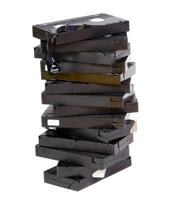 לקלטות וידאו עוד לא מצאנו פיתרון, אבל לקופסאות כן (צילום: shutterstock)