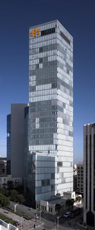 מגדל הבנק הבינלאומי בתל אביב (צילום: עמית גרון)