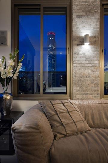 הנוף מהסלון (צילום: שי אפשטיין )