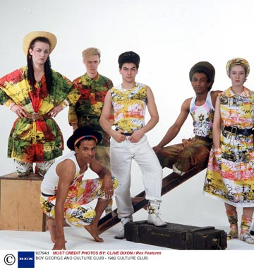 מועדון תרבות, 1982. מוזיקה אקלקטית ומראה תואם  (צילום: REX A.S.A.P/CREATIVE)
