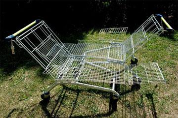 עגלת הסופרמרקט. נוח? (צילום: James Harris)