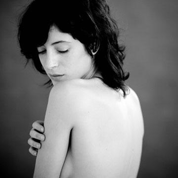 אפרת גוש, 2008 (צילום: אלון שפרנסקי)