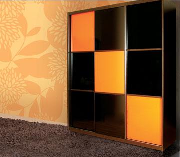 השתלבות הארון בחדר. חשבו עליו כפריט עיצובי לכל דבר והתאימו אותו לעיצוב החדר (צילום: באדיבות רשת ארונות הראל )