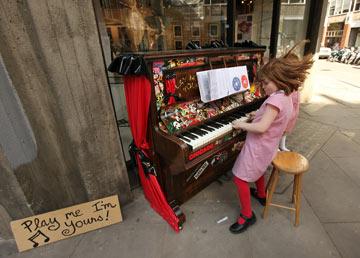פסנתר זה לילדים (צילום: gettyimages)