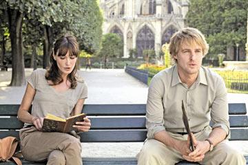 """חש בנוח. ווילסון עם קרלה ברוני ב""""חצות בפריז"""""""