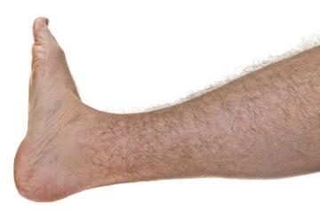 אילוסטרציה של רגל נשית שעירה? אין בנמצא (צילום: shutterstock)