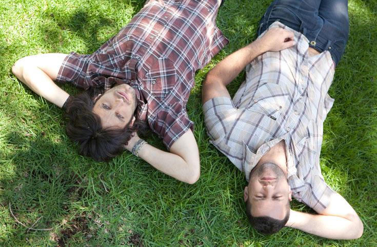 """""""ברגע שחיבקו אותנו, חיבקנו בחזרה"""". הצמד נדב ואסף (צילום: יוסי סודרי)"""
