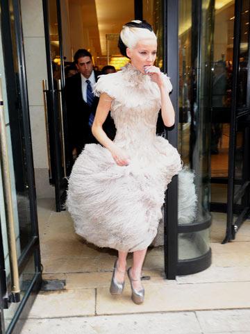 דפני גינס. ליידי גאגא לעשירים? (צילום: gettyimages)