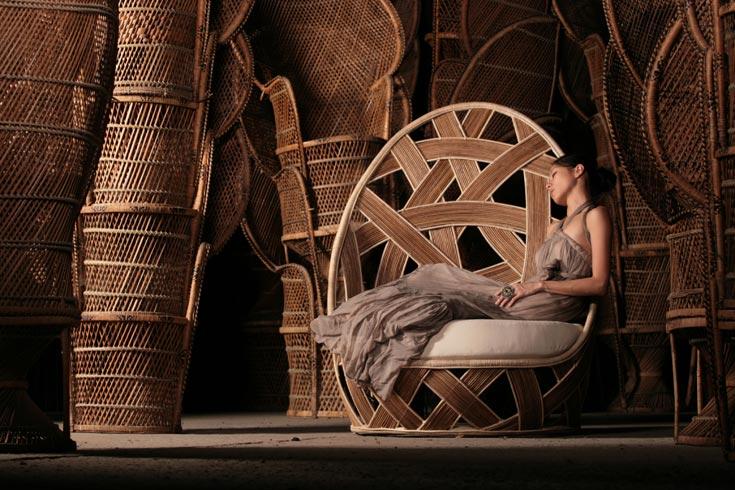 7. רהיטי העץ המהפנטים של ויטו סלמה. הפיליפינים לא מפסיקים לככב כאן בזמן האחרון (צילום: ויטו סלמה)