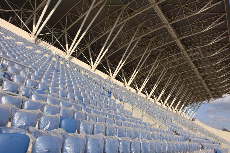 אצטדיון המושבה בפתח תקוה הוא השקעה כבדה ביותר של העירייה. התושבים בוודאי ירצו לראות תוצאות מיידיות (צילום: עידו ארז )