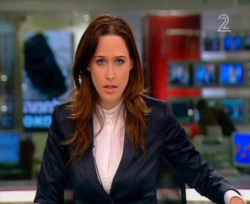"""יונית לוי. """"ליונית מתאים מראה גותי. לתמר המראה הזה לא מתאים"""" (צילום: ערוץ 2)"""