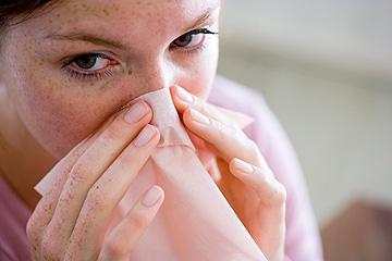 אסור לקנח את האף בשבוע הראשון (צילום: thinkstock)