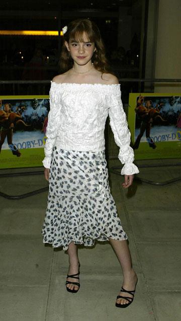 2002. ילדה רזה וחסרת סגנון (צילום: gettyimages)