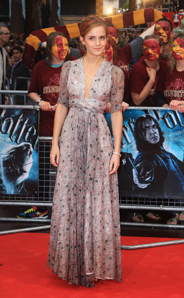 2009. שמלת וינטג' רכה בפרמיירה של ''הארי פוטר והנסיך חצוי הדם'' (צילום: gettyimages)