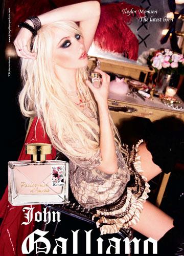 קמפיין הבושם של גליאנו. מוצריו ירדו מהמדפים בישראל