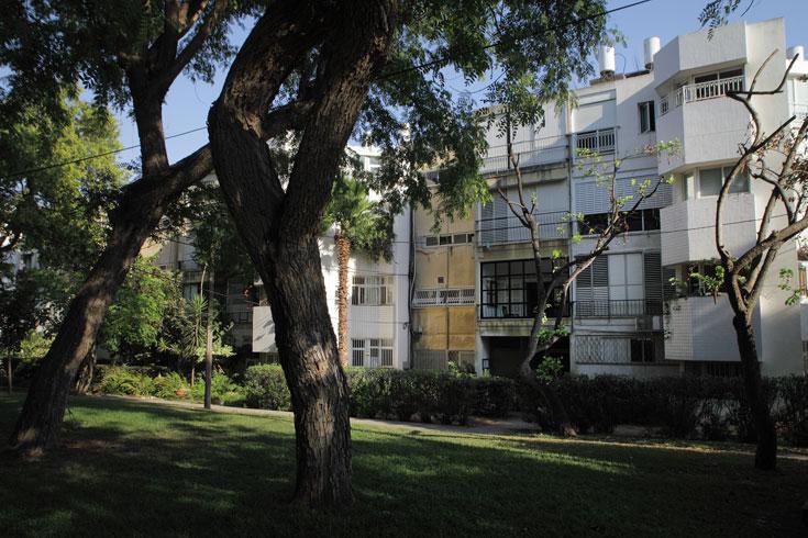 השכונה זיכתה את רכטר ושותפיו בפרס רוקח על תכנון המבנים והשטחים הפתוחים (צילום: אמית הרמן)