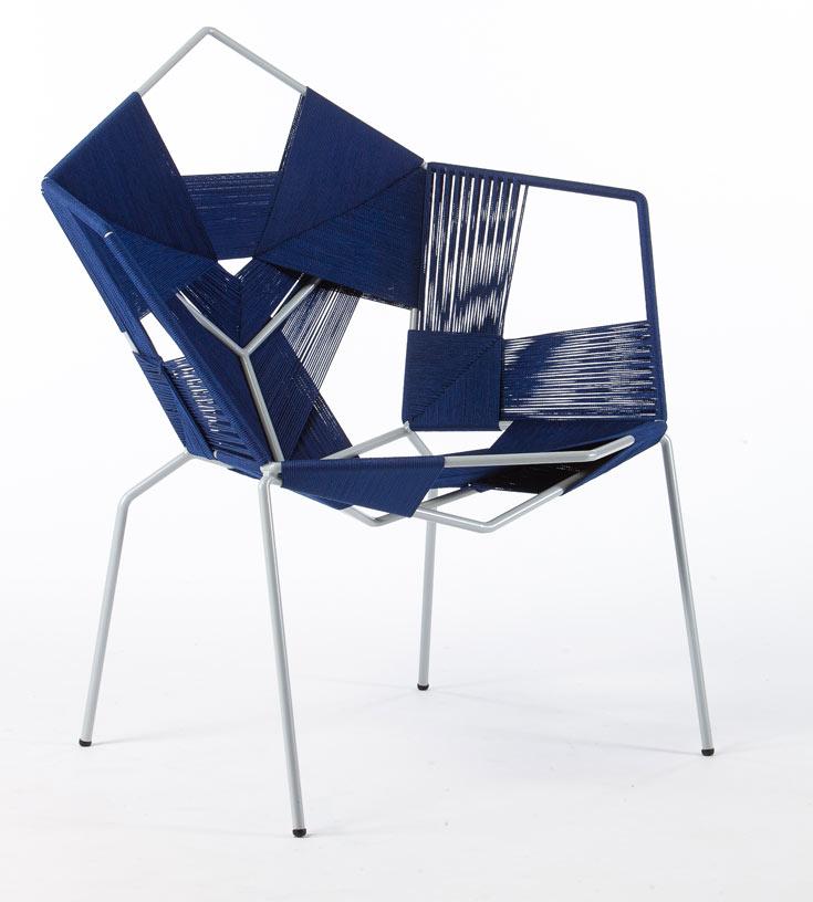 טריף הגיע מג'וליס לירושלים. הכיסא הזה התחיל בקשר עם אומן קליעה בעיר העתיקה