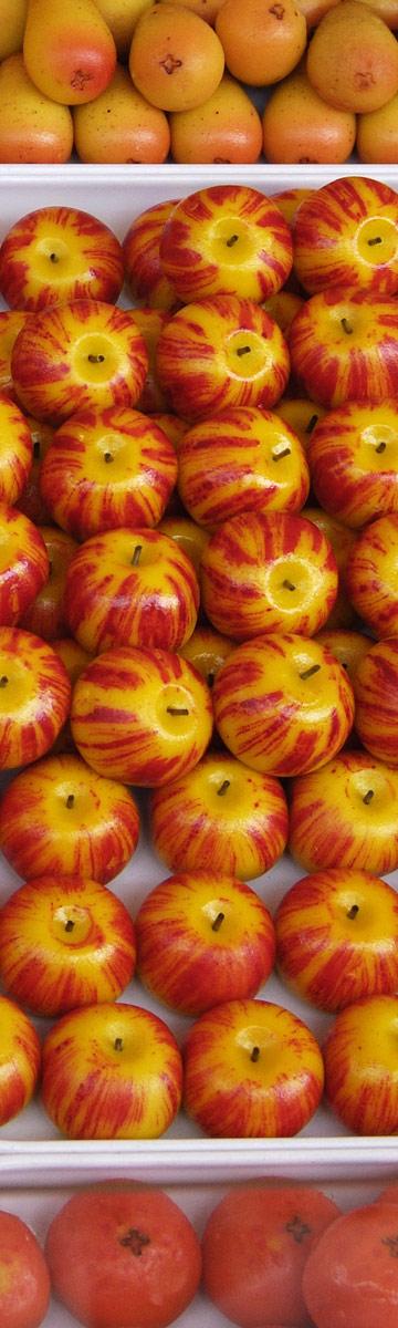 מרציפן בצורת פירות. גם אתם יכולים (צילום: shutterstock)