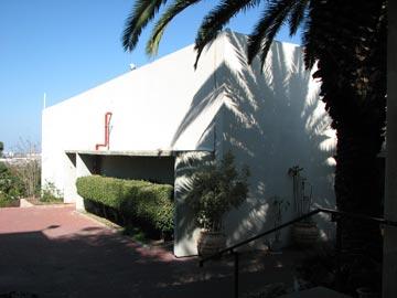 אולם המופעים שתיכנן האדריכל חנן הברון (צילום: מיכאל יעקובסון )
