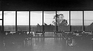 חדר האוכל בשנות השישים (באדיבות ארכיון גבעת ברנר)