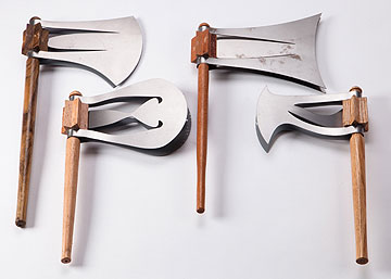 פנחס גרין עיצב חפצים בהשראה ארבעת המועדים (צילום: עודד אנטמן )