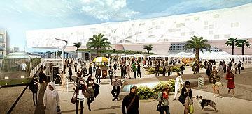 ''גינדי סיטי'', פרויקט הגמר של כפיר אזולאי ורענן שטרן, המחלקה לאדריכלות 2011 (באדיבות בצלאל)