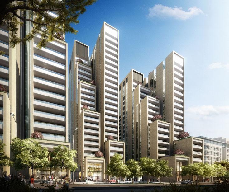 3Beirut, הפרויקט של נורמן פוסטר בביירות. אחד האדריכלים המפורסמים בעולם מתמודד כאן ללא שותף ישראלי (הדמיה: Foster and Partners)