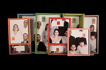 ''דינמיקה משפחתית'', עבודה של רותם כהן. שנקר, אשתקד (צילום: שדי מטר)