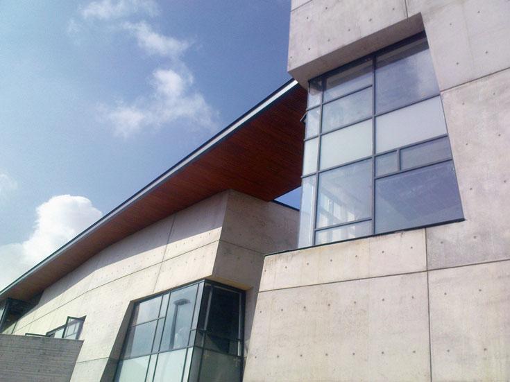 המבנה שזכה בקטגוריית ההישג האדריכלי: בית הלוחם בבאר שבע, בתכנון משרד קימל-אשכולות (צילום: שחף זית )