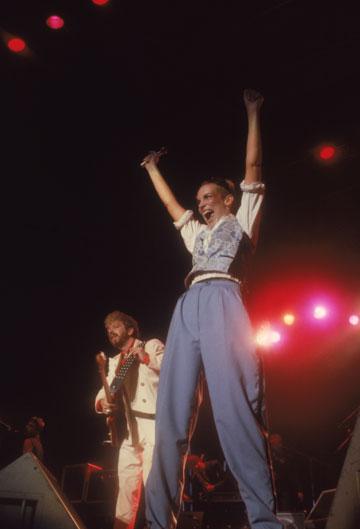אי אפשר לדמיין את שנות ה-80 בלעדיה (צילום: gettyimages)