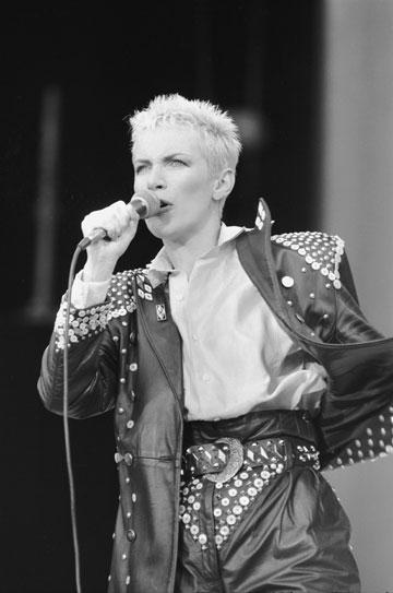 1988. קשוחה במופע מחווה לנלסון מנדלה (צילום: gettyimages)