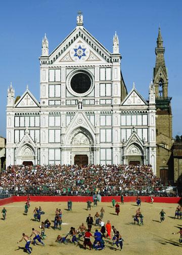 פירנצה. במרחק שעתיים נסיעה, אחת הערים היפות באיטליה (צילום: gettyimages)