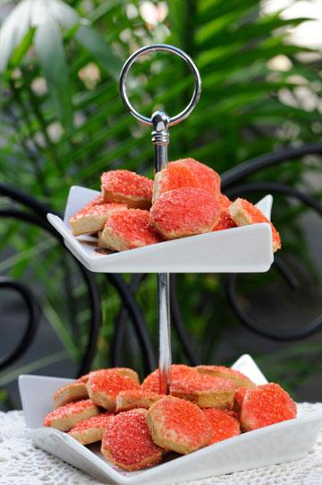 העוגיות נפלאות גם בפני עצמן (צילום: דודו אזולאי)