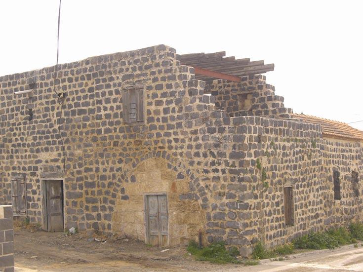 בית שאמי. היה ביתו של האיש העשיר בצפון, שעיקר הכנסתו מטחנת הקמח היחידה באזור שפעלה על סולר (צילום: אריאלה אפללו)