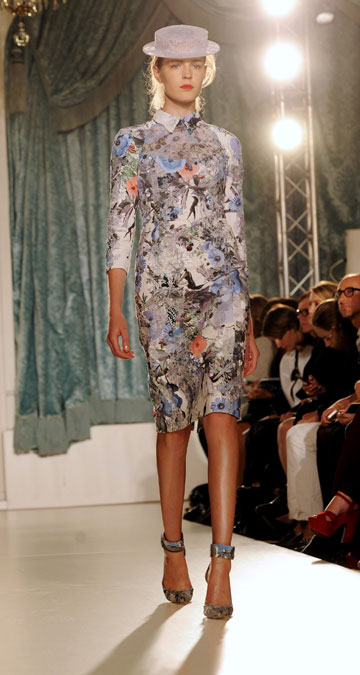 תצוגת האופנה של ארדם לקיץ 2012. סקסיות מסוג חדש (צילום: gettyimages)