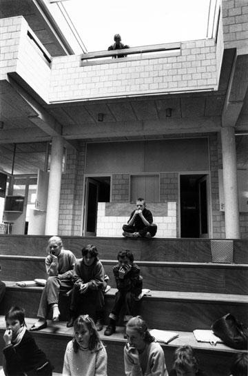 בית הספר בדלפט. פתיחות (צילום:Johan van der Keuken)